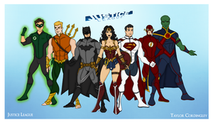 My DCU - Justice League Redesigned Redux by Femmes-Fatales