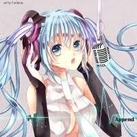 Miku Append by Furihime