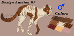 Design Auction #7 -Sold- by FaineSpades