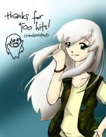 misa says thank you... by windarchitect
