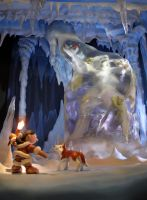 Ice Cave by sculptwerks