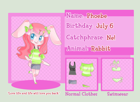 Deviant Crossing App: Phoebe by Dreamilicious