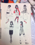 Clothes Challenge: Day 16-20 by Yumikito
