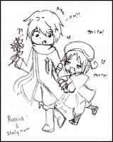 Russia and Italy Hetalia by janelvalle