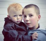 teitur and his little cousin by NOSTARWARS