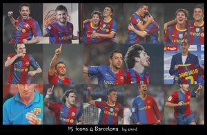 Barcelona - icons by Zumrda