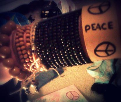 Peace Arm by Sarahbumblebee