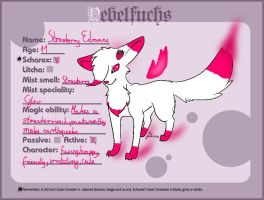 Strawberry Edmans The Nebelfuch by NekoTheFox