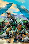 TELLOS  issue 4 cover by Wieringo