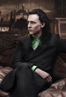 Loki - Bored and Needing a Magazine by RancidRainbow