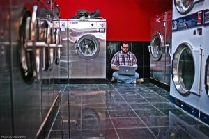 Benjamin and Washers by MikePecci