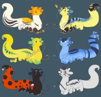 AD Batch #1 - All Sold! by StoryShepherd