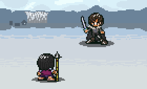 Way of Kings X Game of Thrones - Kal Vs. Jon by Blue-Cup