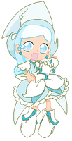 Magical DoReMi/MLP Snowdrop - Snowdrop by RoyaleAnimeQueen