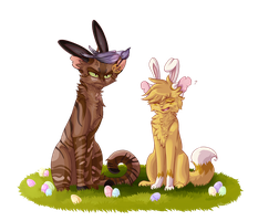 Bryniel\'s Easter by Bluefire-kitteh