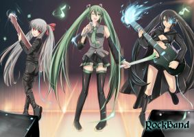 Twin Tail Band by CatstudioINC