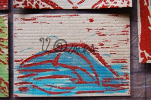 Blue Whale colour ATC by lonesomeaesthetic
