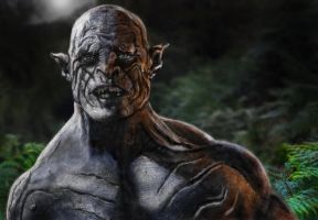 Pale Orc. Azog the defiler...... by Jongi13