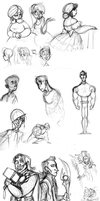 May 2012 Sketchdump by katseartist