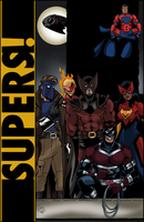 Supers! illo by Joe-Singleton