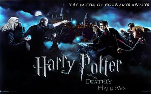 Harry Potter Final Battle by imperiqqq