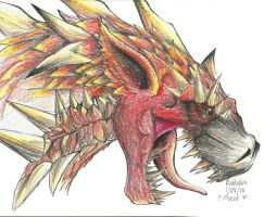 Rathalos by TheSonoftheDarkness