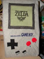 Plush original gameboy by blackcat523