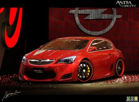 Opel Astra Concept by Noxcoupe-Design
