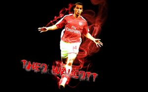 Theo Walcott Wallpaper-Mikhail by thefreaks