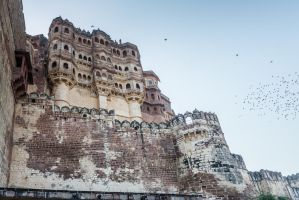 Incredible India - monumental fort by Rikitza