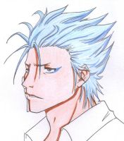Grimmjow Jeagerjaques by kaze-no-Kei