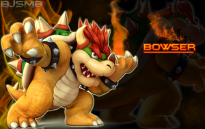 Bowser Wallpaper by BowserJrSMB
