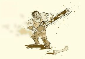 Texas Chainsaw by BReibeling