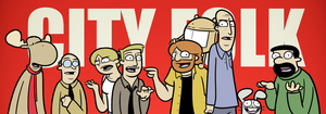 2012 Character Banner by cityfolkwebcomic