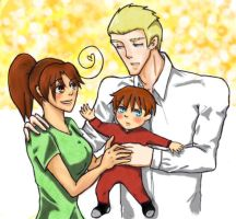 Fem!Italy and Germany family for Dhilah-Dayat by thefuzzysweater