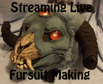Livestreaming: Fursuit making 101- lizard feet by ArtSlavefursuits