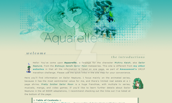Sailor Neptune Layout by LCie