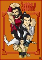 Five Deadly Venoms Cover 2 by Heltron