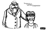 The Walrus and the Carpenter by LucasCGabetArts