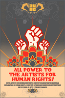 Artists for Nonviolence Poster Contest 2 by poasterchild