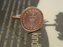 Half Penny Ring by thepapercraftcouple