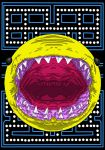Realistic Pacman by Brainstorm-bw-style