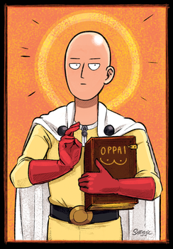 The Prophet Saitama (One Punch Man) by Sabtastic