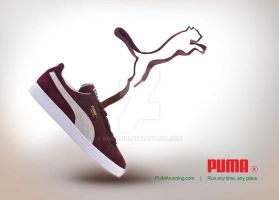 puma advertising by nooshini