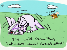 Growlithe is SCARY by WritingForNoReason
