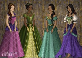 Disney Tudor Princesses 5 by jesusismybestie