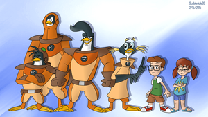 3-2-1 Penguins by ScoBionicle99