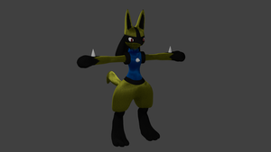 WIP 4 ShinyLucario by PhiliChez