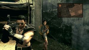 Chris and Sheva by LadyNaginiWesker