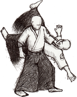 Aikido throw 1 by LachlanKadick